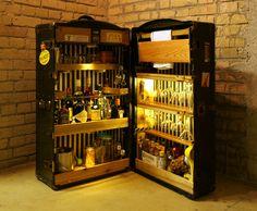Grand Trunk Portable Cocktail Bar No.1 - 6, 2004-2012 - deanbaldwin
