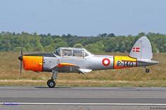 Danish Air Force de Havilland Chipmunk.