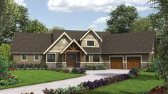 This brand new craftsman design is perfect for the lake or mountains or a New England neighborhood. View the floor plans House Plan 9121 and let us know what features are your favorite.  http://www.thehousedesigners.com/plan/ferguson-9121/