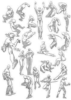 人体 Diy Craft Table craft armoire with fold out table diy Drawing Body Poses, Body Reference Drawing, Gesture Drawing, Anatomy Reference, Action Pose Reference, Anime Poses Reference, Action Posen, Fighting Poses, Sketch Poses