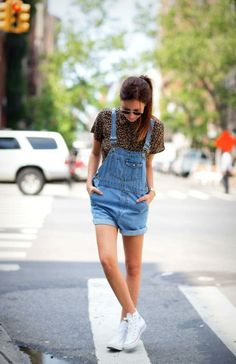 Trend alert: de salopette - Mode - Streetstyle - Style Today