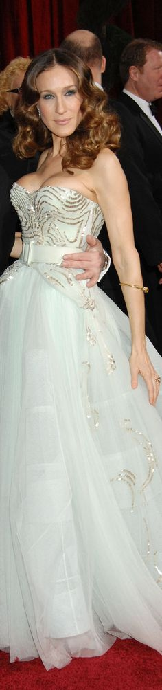 Sarah Jessica Parker  in Christian Dior Haute Couture