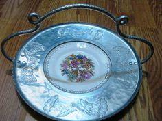 Vintage Wrought Farberware Aluminum by WHISTLESTOPTRAINSHOP