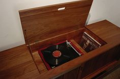 Turntable Record Area