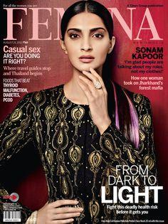 sonam kapoor -  femina magazine cover [india] (august 2013)