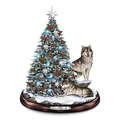 Winter's Majesty Tabletop Christmas Tree #ArtOfGiving #Christmas