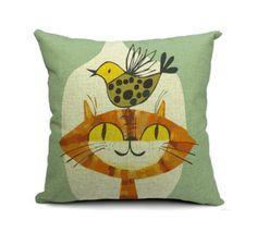 Best Frands Cats Toss Pillow