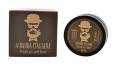 This revolutionary gelatinous pomade from Barbara Italian is composed for extra-strong holding action and extra-dense. It contains Grapeseed oil with its high antioxidant-nourishing and energizing properties. The new fixing hair pomade sculpts and hold any type of hairstyle. Guaranteed style for hours. Hair Pomade, Beard Care, Hair Type, Sculpting, Action, Strong, Style, Swag, Beard Grooming