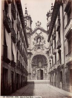San Sebastián, Iglesia de Santa María | Flickr - Photo Sharing!