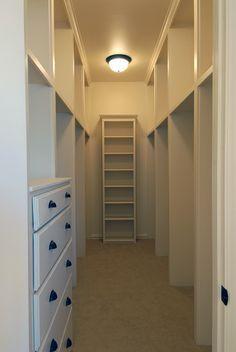 Narrow Closet On Pinterest Narrow Closet Closet And Small Closets