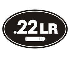 VRS Gun OVAL Ammo 22LR Long Rifle Bullets CAR DECAL VINYL STICKER Home, Furniture & DIY