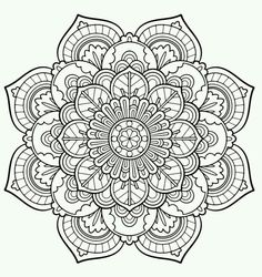 353 Best Mandala Coloring Pages images in 2019 | Coloring pages ...
