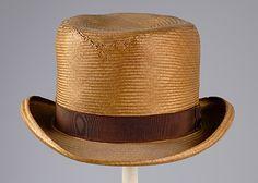 Man's Hat 1870 The Metropolitan Museum of Art