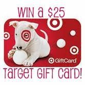 Flash Giveaway: Win a $25 Target Gift Card or card of your choice!