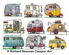caravane dessin images - Recherche Google