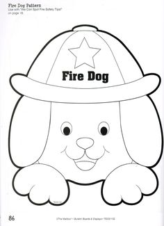 Art Projects For Preschoolers About Fire Safety Firefighter Theme Craft A Preschool Ideas – Best Home Decoration Fire Safety Crafts, Fire Safety Week, Sparky The Fire Dog, Fall Preschool Activities, Preschool Crafts, Toddler Activities, Fireman Crafts, Fire Prevention Week, Community Helpers Preschool