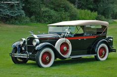 1928 Packard Model 526.  There's always room in the garage for another Packard.