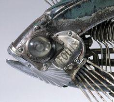 Edouard Martinet's Metal Sculptures