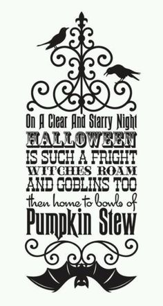 Halloween is such a fright - Halloween Vinyl Wall Decal -    http://www.etsy.com/listing/81096004/vinyl-wall-decal-sticker-art-witches
