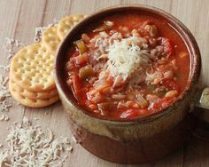 Stuffed Pepper Soup:  Delicious and affordable Fall/Winter Recipe! It's quick and easy too!