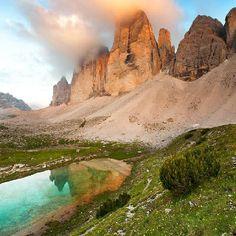 Le Tre Cime di Lavaredo Belluno Dolomiti Veneto Italia