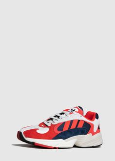 outlet store 32627 ad94b Adidas Yung 1 RedNavy