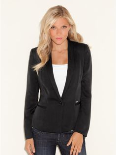 Classic black blazers for women