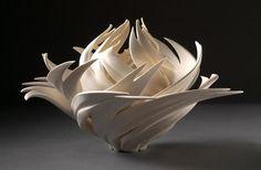 Lotus nest Природа, застывшая в фарфоре, от Дженнифер МакКурди (Jennifer McCurdy)