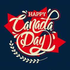 Canada day lettering. Download it for free at freepik.com! #Freepik #freevector #anniversary #celebration #happy #holiday Canadian Things, I Am Canadian, Canadian Artists, Graphic Design Templates, Modern Graphic Design, Canada Day Images, Kirby Character, Canada Holiday, O Canada
