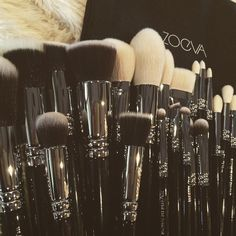 Love.. My Make-up brushes.. This is starting to become a collection! ♡