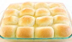 Beautiful Butter Buns!  These look like they would just melt in your mouth!