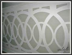 How cool is this wainscot?