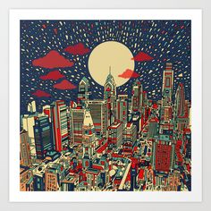 https://society6.com/product/philadelphia-city-skyline-qqr_print?curator=bestreeartdesigns. $22.99