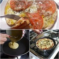 Ingredientes PARA A MASSA 2 e 1/2 xícaras de farinha de trigo 1 colher de sopa de manteiga 1 colher de chá rasa de sal 1 copo americano de leite morno PARA O RECHEIO 1 embalagem de molho de pizza pronto 200g de mussarela 1 tomate fatiado Orégano a gosto Modo de preparo: Em uma …