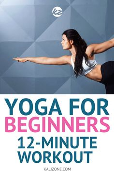 So you want to get started with yoga and you're not sure how to begin. This post gives you an easy, workout to get started with yoga. Yoga Fitness, Fitness Tips, Easy Fitness, Fitness Plan, 12 Minute Workout, Yoga Today, Yoga Exercises, Yoga Workouts, Restorative Yoga