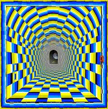 steps to draw optical illusions - Google Search