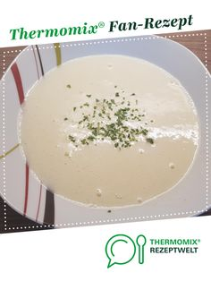 Creamy asparagus soup (use of asparagus peels / asparagus ends) - Cream of asparagus soup (use of asparagus peels / ends of asparagus) from sumBienchensum. A Thermom - Creamy Asparagus, Baked Asparagus, Asparagus Soup, Healthy Protein, Protein Foods, Easy Cooking, Cooking Tips, Baked Spaghetti, Homemade Soup