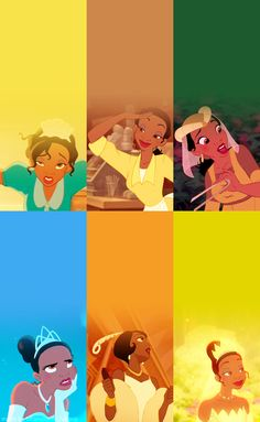 Day #2 Favorite Princess- Tiana She is so hard working and loving, it's impossible to not admire her!