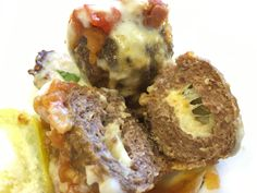 The final result of special meatballs... Resultado final das almôndegas especiais...