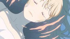 Shigatsu wa kimi no uso/ Miyazono Kaori Manga Anime, Anime Gifs, Sad Anime, Me Me Me Anime, Anime Love, Anime Art, Anime Crying, Crying Gif, Aesthetic Drawing
