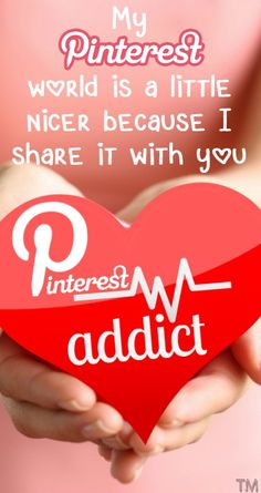 My Pinterest world is a little nicer because I share it with you... Thanks!