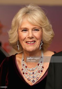 Camilla, Duchess of Cornwall attends the Royal Film Performance and World Premiere of 'The Second Best Exotic Marigold Hotel' at Odeon Leicester Square on February 17, 2015 in London, England.  (Photo by Chris Jackson - WPA Pool/Getty Images)