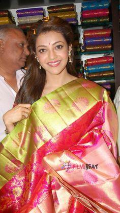 Kajal Agarwal Saree, Indian Actresses, Sari, Queen, Girls, Beauty, Beautiful, Dresses, Fashion