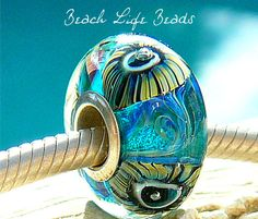 ZEBRA URCHIN OPAL Fully Lined Sterling Silver by beachlifebeads, $24.00