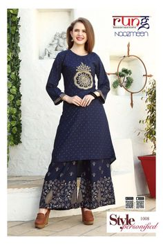 ecd04e887e NAAZMEEN KURTIS SERIES 1001 TO 1006 RUNG AVAILABLE IN FULL SET AT WHOLESALE  PRICE ON INDIANSTYLESHOP
