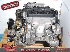 Accord 1998-2002 F23A Motor, 2.3L VTEC CD1 CD2 Engine and Automatic Transmission.  Find this item on our website: https://www.jdmracingmotors.com/honda/accord-f23a-23l-vtec-motors/2257  Tags: #jdm #jdmracingmotors #jdmhonda #honda #f23a #accord #hondaaccord #jdmparts