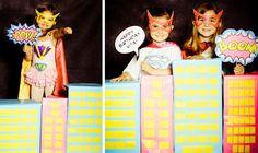 Pop Art Superhero Girl Birthday Party