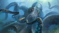 Afbeeldingsresultaat voor octopus kraken