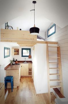 "Simple 200-sqft ""Caracole"" Tiny House by French Builder Escampette"