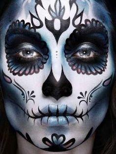 Breathtaking Sugar Skull ❤'d by http://makeupartistrycairns.com.au